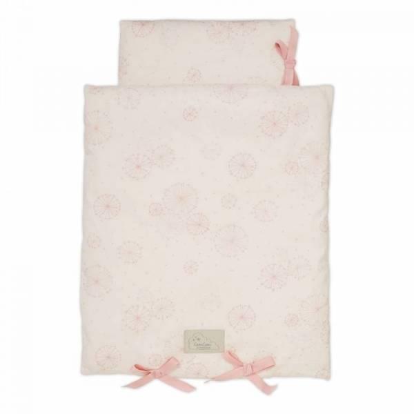 Puppenbettwäsche - Dandelion Rose