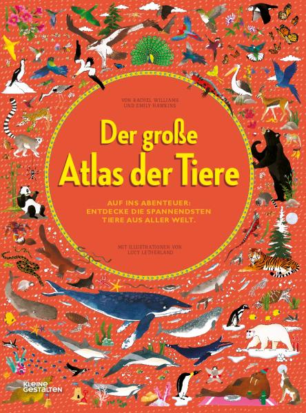 Kinderbuch Atlas der Tiere
