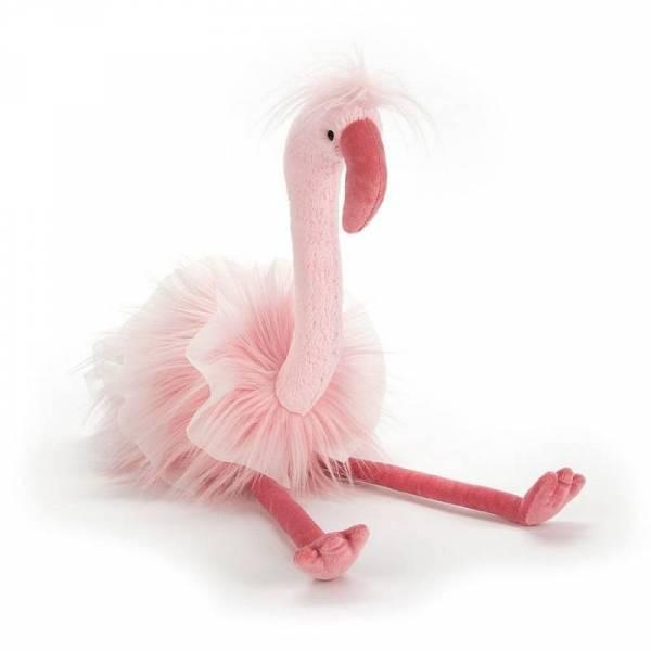 Stofftier Flamingo Flo Maflingo - H51cm - coral