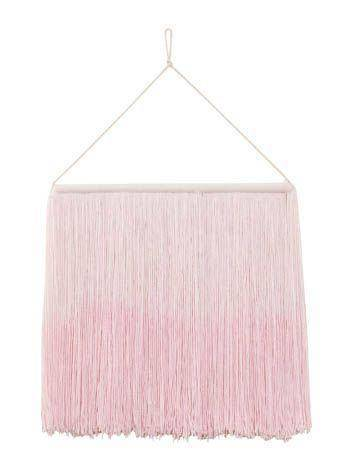 Wanddeko Wall Hanging Tie Dye - pink