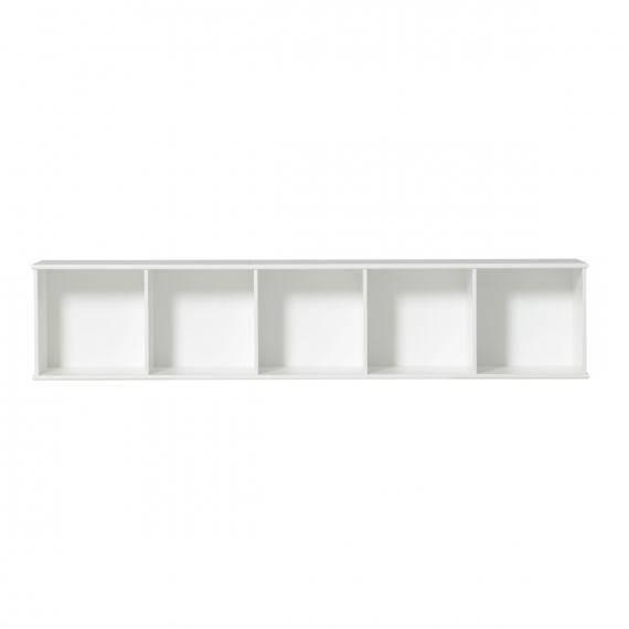 Wood Standregal horizontal 5 x 1 mit Sockel