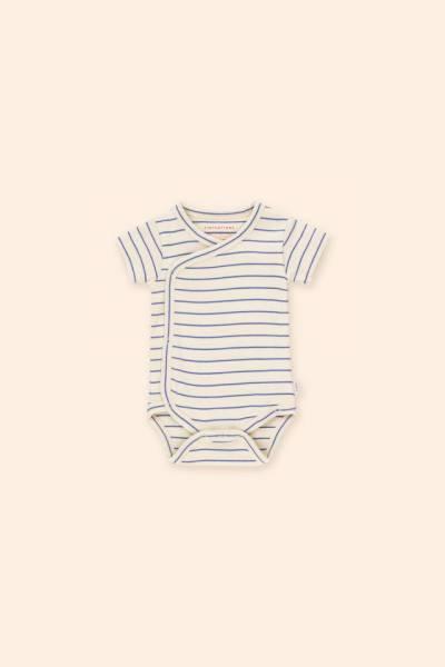 Baby Body Stripes Crossed