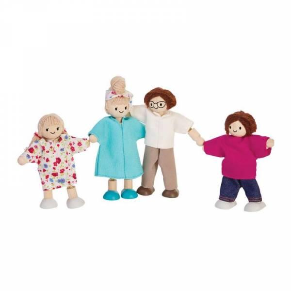 Puppenfamilie modern