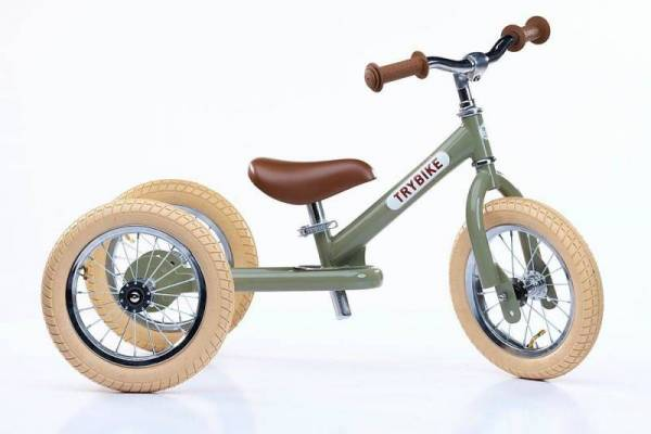 Laufrad - Trybike Steel - vintage green
