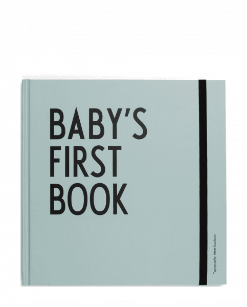 AJ baby's first book - türkis