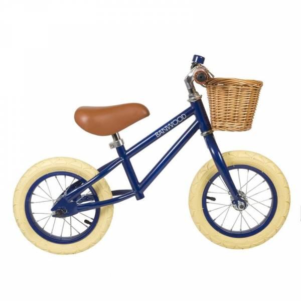 Vintage Laufrad First Go! - Marineblau