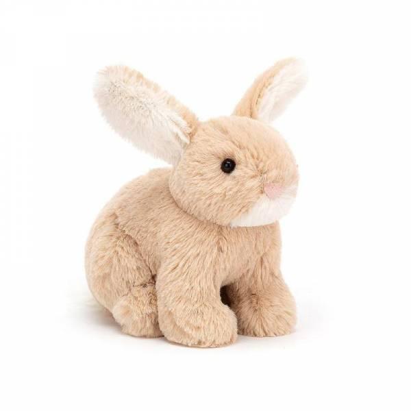 Stofftier Hase Minilop Bunny - H10cm - braun