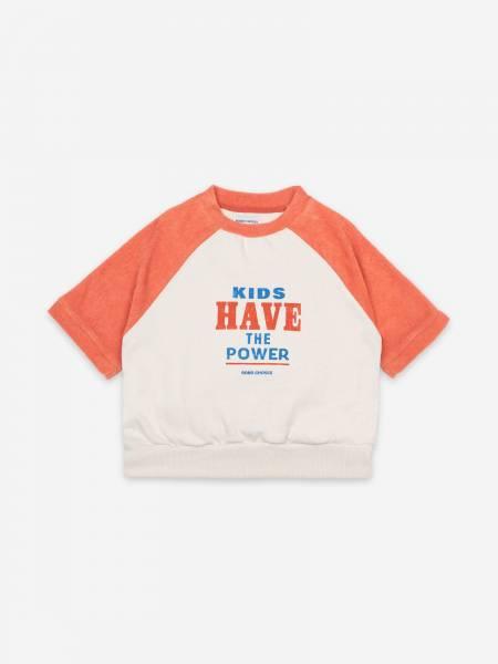 Short Sleeve Sweatshirt Kids Have The Power