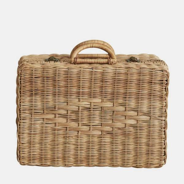Kinderkoffer Rattan Toaty Trunk - natural