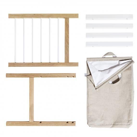 2 Auszüge und Wäschesack für Seaside Kommode und Wickelkommode