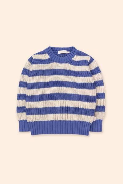 Strickpullover Stripes Sweater blue