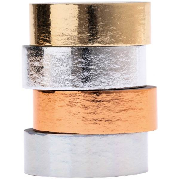 Tape Set Metallic FSC Mix 4Stk 1,5cm x 5m