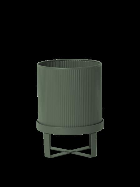 Übertopf Bau Pot - Dark Green - Small