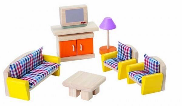 Puppenhausmöbel Wohnzimmer Neo