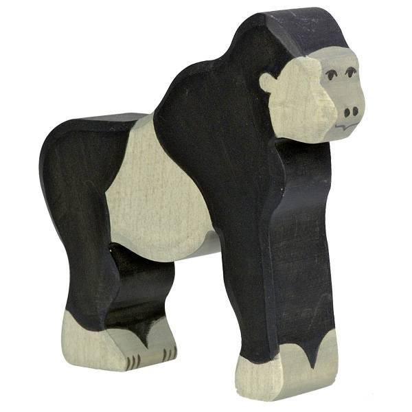 Gorilla Holzfigur