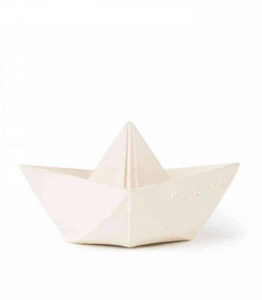 Origami Boat - White