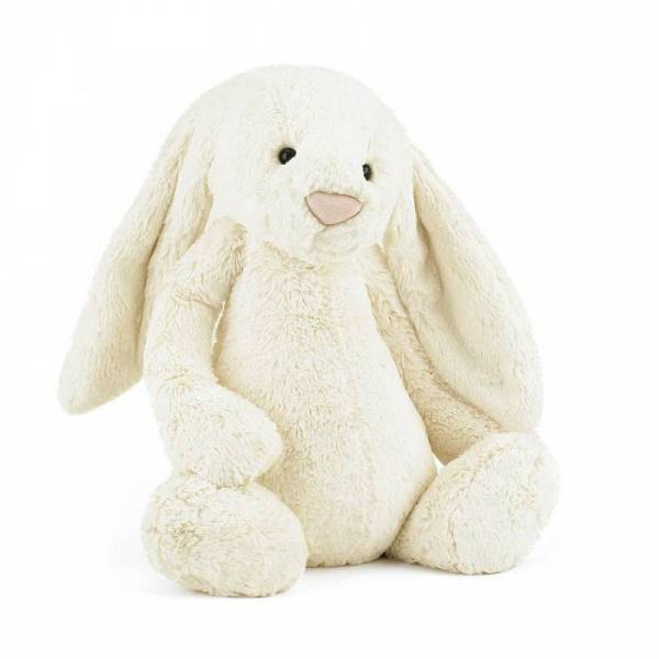 Stofftier Hase Bashful Bunny Huge - Cream