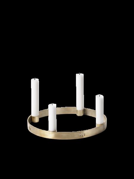 Kerzenhalter Circle Adventkranz Messing - Small