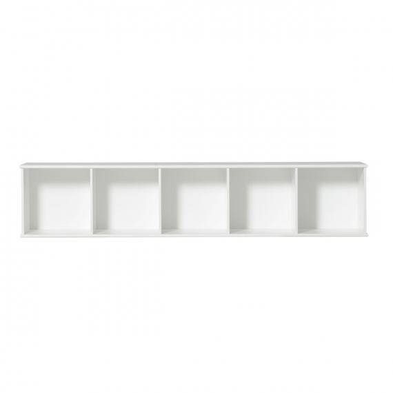 Wood Regal horizontal 5 x 1 zum Aufhängen