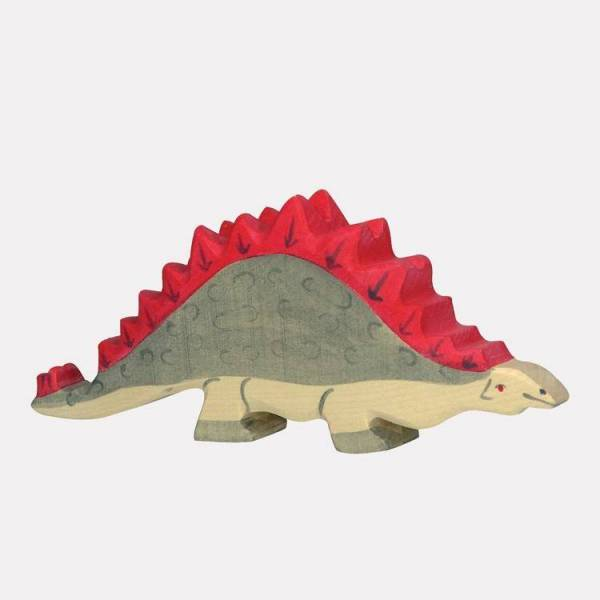 Stegosaurus Holzfigur