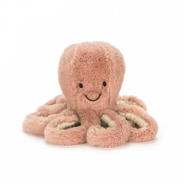 Stofftier Krake Odell Octopus Medium - H49cm - nude