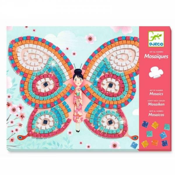 Mosaik: Glitzer Schmetterlinge