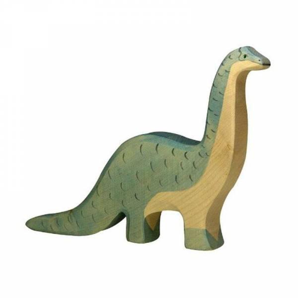 Brontosaurus Holzfigur