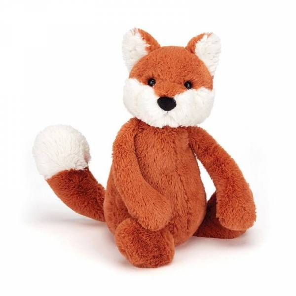 Stofftier Fuchs Bashful Fox Cub Small - H18cm