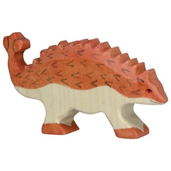 Ankylosaurus Holzfigur