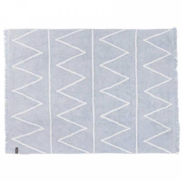 Teppich Hippy - Soft Blue - 120x160cm