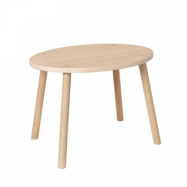 Mouse Table Eiche Natur Klar Lackiert Tisch Stuhl Baby Und
