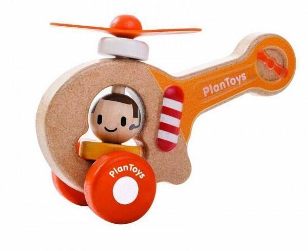 Helikopter/Hubschrauber aus Holz