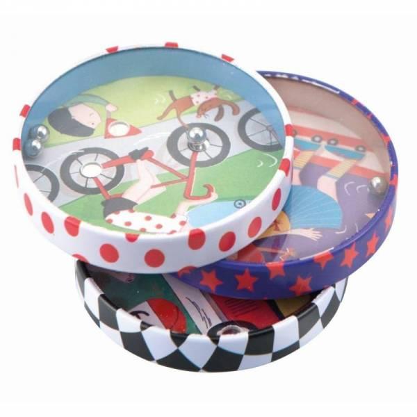 Geschicklichkeitsspiel Radfahrer