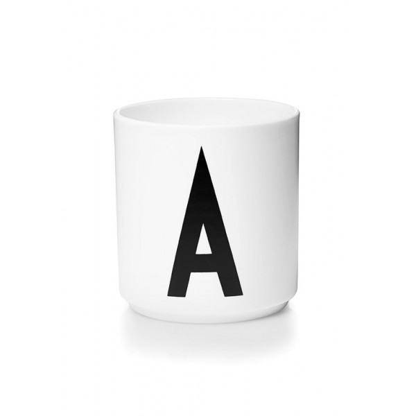 AJ Becher - Personal Cup - white