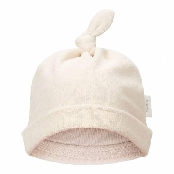 Babymütze Royan warm white