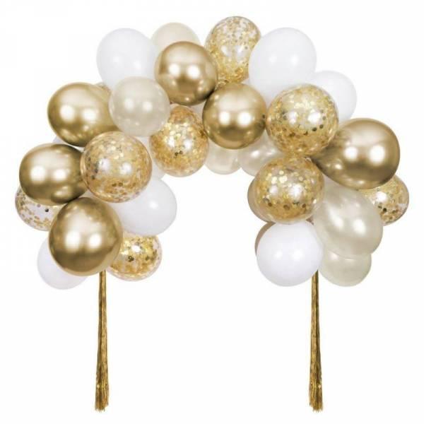 Ballongirlande - gold