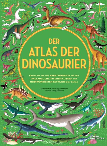 Kinderbuch Atlas der Dinosaurier