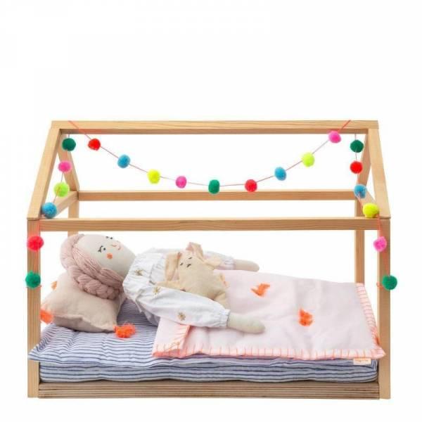 Puppen-Hausbett / Puppenbett