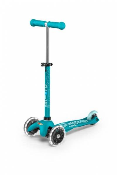 mini micro deluxe LED aqua Roller Scooter