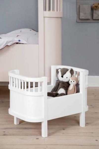 Das Sebra Puppenbett - white