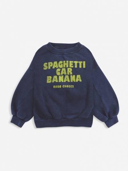 Sweatshirt Spaghetti Car Banana