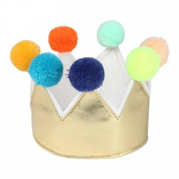 Krone für Kinder mit Gummizug