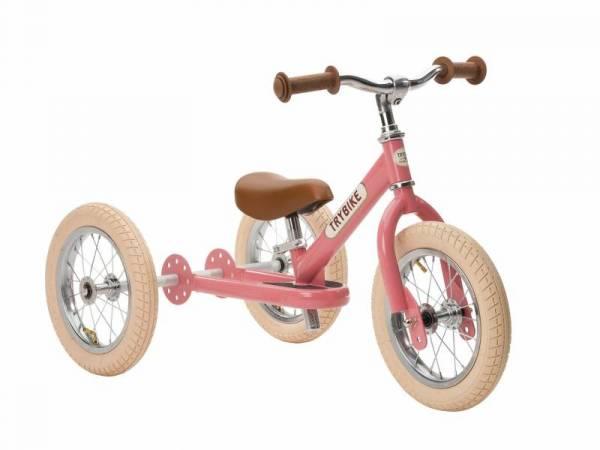 Laufrad - Trybike Steel - pink