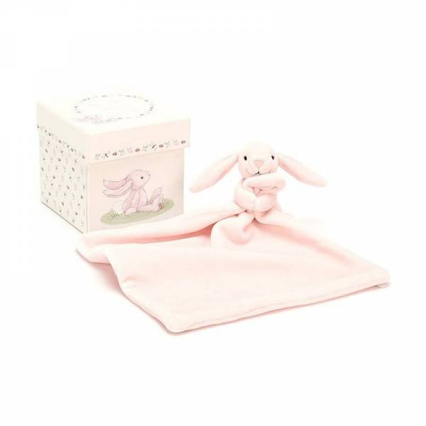 Baby-Stofftier Schnuffeltuch Hase My First Pink Bunny Soother
