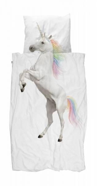 Kinder-Bettwäscheset Einhorn Unicorn 135 x 200 cm, inkl. 1 Kissenbezug 80 x 80 cm