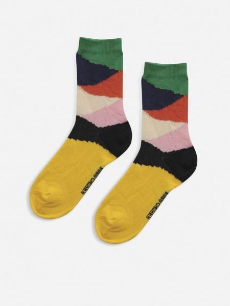 Socken Multi Color Block