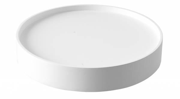 Drum Tablett - weiß
