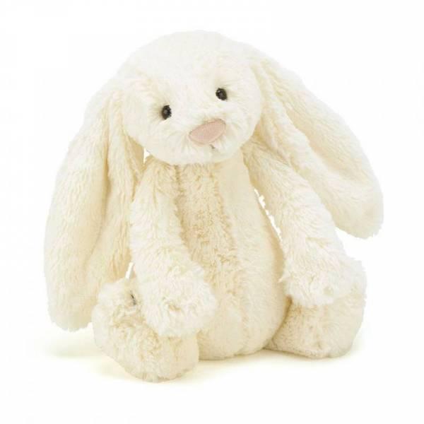 Stofftier Hase Bashful Bunny Medium - H31cm - Cream