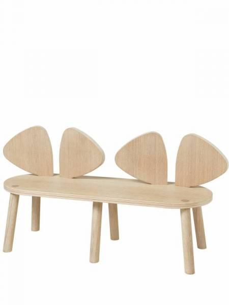 Mouse Bank Eiche Natur Weiß Geölt Tische Stühle Baby Und