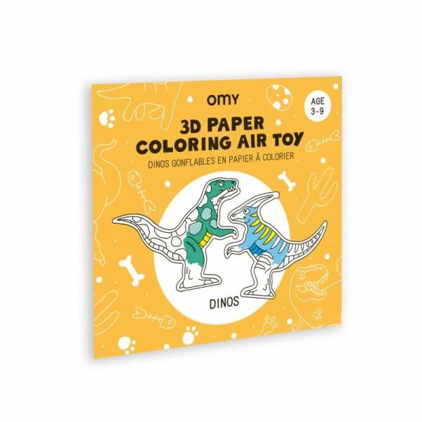 Air Toy 3D Aufblasbare und bemalbare Dinos
